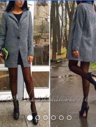 Новое твидовое пальто. Разм. 4244