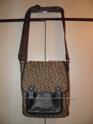 Вместительная сумка через плече Calvin Klein оригинал