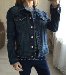Крутой джинсовый пиджак Zara