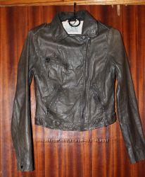 Стильная винтажная кожаная курточка Essentiel Antwerp, XS