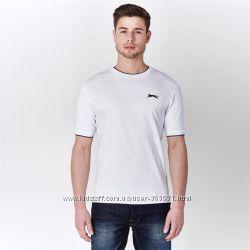 Фирменная футболка Slazenger Англия размер 100 cotton распродажа лета