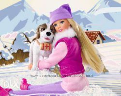 Steffi Love от Simbа с собакой-спасателем Winter Walk