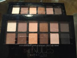 Maybelline Тени для век The Nudes