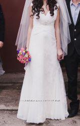 Продам красивое свадебное платье размер 40-44