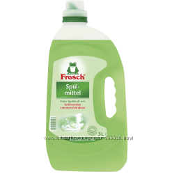 FROSCH Средство для мытья посуды Зеленый лимон 5л