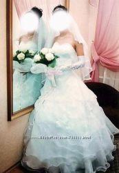 Счастливое свадебное платье 42-44-46