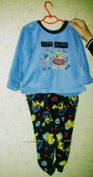 Теплая пижама Primark 2-3 года