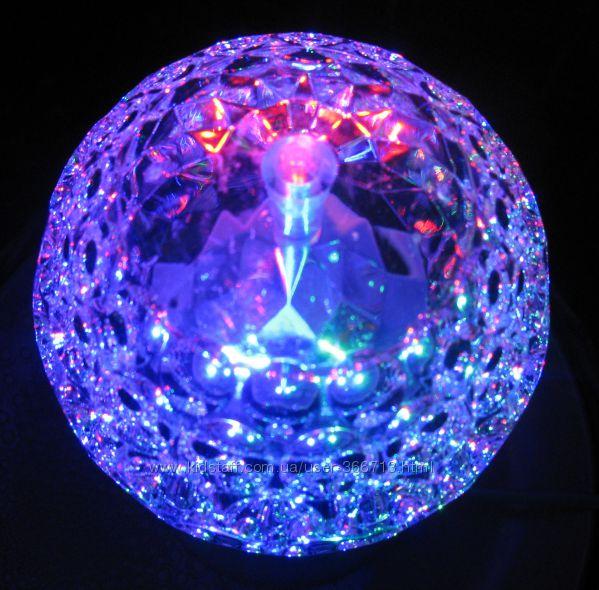 Диско светильник , праздничная лампа цветной свет