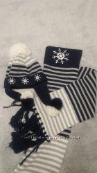 WOJCIK шапка и шарф на 10-12 лет