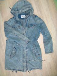 стильная джинсовая куртка ветровка Л-ХЛ