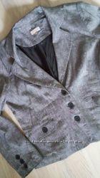 льняной легкий пиджак на наш 52