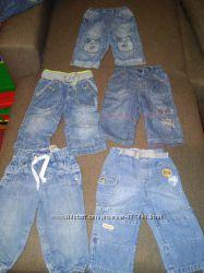 Наши фирменные джинсы на 6-9м
