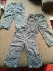 штаны на резинке с тонкой подкладкой MEXX, NEXT на 1, 5-2 г