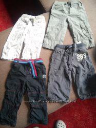 летние штаны хороших фирм на 12-18м