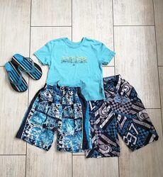 Комплект летних вещей для мальчика.