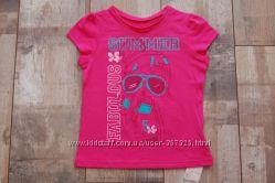 116 . 6 лет футболка на девочку mothercare
