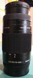 Объектив SONY SAL-75300 75-300 mm f4, 5-5, 6