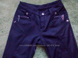 Штаны-джинсы на флисе
