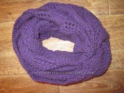 Снуд шарф вязаный