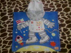 Полотенце-пончо для чудесного малыша