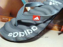 Мужские вьетнамки-сланцы Adidas серый 40р-45р