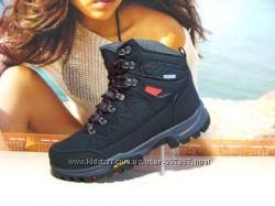Зимние ботинки ANDA Outdoor черн ---37р-41р
