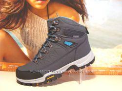 Зимние ботинки ANDA Outdoor серый ---37р-41р