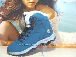 Акция зимние ботинки BaaS Outdoor  синий 37р-41р