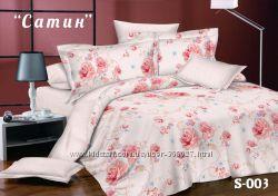 Комплект постельного белья Тет-А-Тет евро Сатин