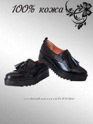 Туфли оксфорды, очень крутые