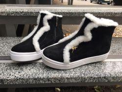 Утепленные ботиночки на меху Zetta.