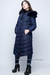 Теплое зимнее пальто до 58 размера