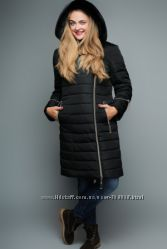 Пальто большого размера до 58