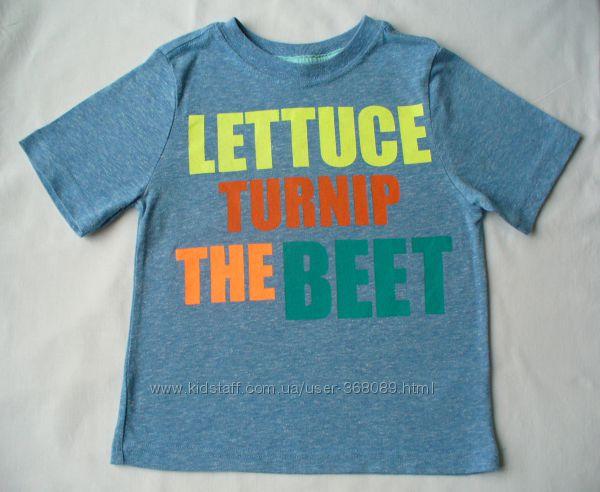 Яркая футболка CRAZY8 на 4-5 лет