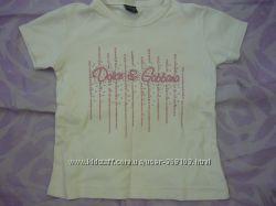 Продам футболку на девочку 5-6 лет, рост 116 см