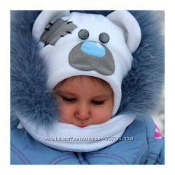 Зимняя шапка Тедди в наличии