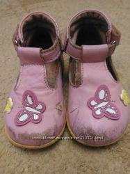 Туфли натуральная кожа 19 размер, стелька 11, 5 см