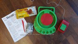 Детский гончарный круг нов. батарейки, нов. упаковка глины