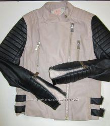 Куртка косуха кожанка из кожзама jelа london