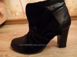 Черные ботильоны, ботинки, цену снижено