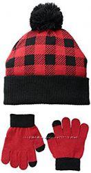 iXtreme Комплект шапка и перчатки для мальчика 4-6 лет. США.