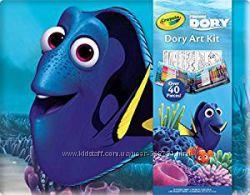 Набор CRAYOLA Finding Dory Art Kit. В поисках Дори. Оригинал. США.