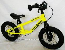 Детские беговелы велобеги BRN B-2 на надувных колесах 12 д с ручным тормозо