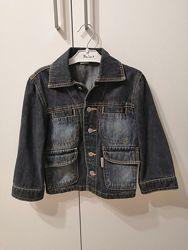 Джинсовый пиджак для мальчика 104 рост
