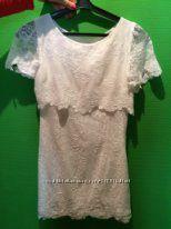 Платье из шикарного кружева.