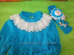 Вязаные детские свитера любой размер под заказ