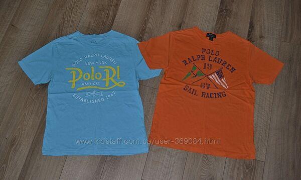 Polo ralph lauren футболки оригинал США рост 146-150