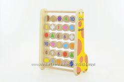 Скидки на Экологически чистые деревянные игрушки.