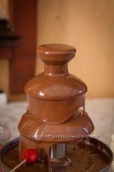 Шоколадный фонтан и шоколад для фонтана. Акция