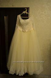 Шикарнейшее свадебное платье прокат продажа